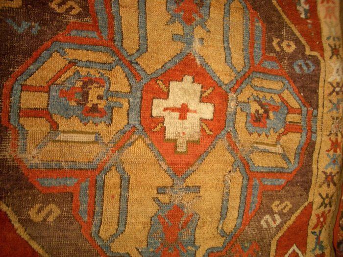 Freuds Rug detail Bev Dunbar The Gilded Image