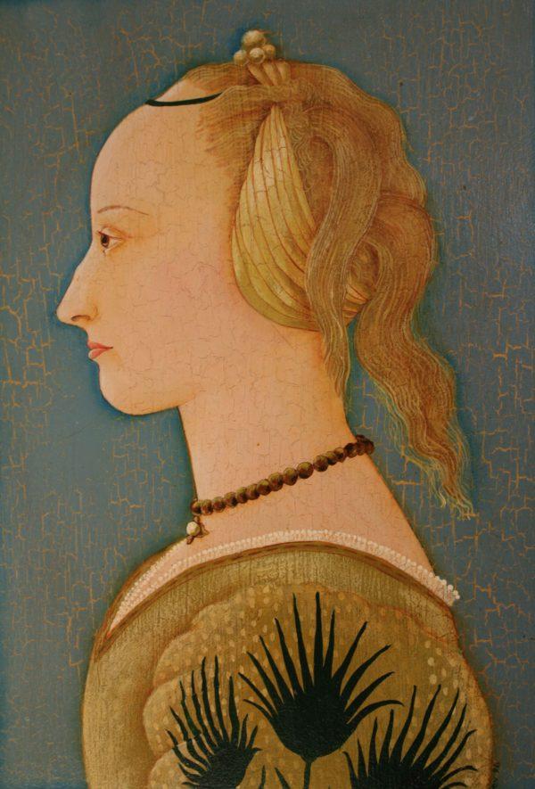 The Yellow Dress Bev Dunbar The Gilded Image